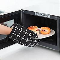 Găng tay lò vi sóng, bao tay nấu ăn nhà bếpcách nhiệt đa năng có móc treo tiện dụng
