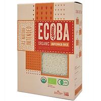 [Chỉ Giao HCM] - Gạo Nhật hữu cơ ECOBA Sakura - hộp 1kg