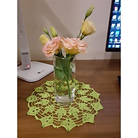 Lót lọ hoa đan móc tay - 6647-3