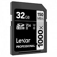 Thẻ Nhớ Lexar SDXC Lexar Professional 1000x 32GB UHS-II 150MB/s - Hàng Chính Hãng