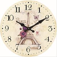 Đồng hồ treo tường Vintage mẫu bán chạy size 23cm DH45