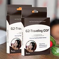 Combo 2 hộp Miếng ngậm chống say xe G2- Traveling - Dành cho cặp đôi du lịch