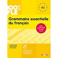 Sách học tiếng Pháp: Grammaire essentielle du francais : Livre + CD A2
