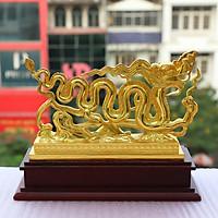 Tượng Rồng Thời Lý mạ vàng