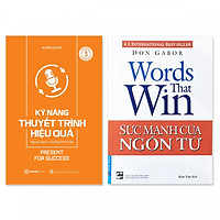 Combo 2 cuốn:  Kỹ Năng Thuyết Trình Hiệu Quả, Sức Mạnh Của Ngôn Từ