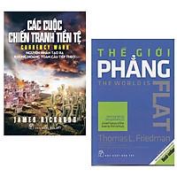 Combo Sách Kỹ Năng Làm Việc Hay Và Hiệu Quả: Các Cuộc Chiến Tranh Tiền Tệ (Tái Bản) + Thế Giới Phẳng (Tái Bản)
