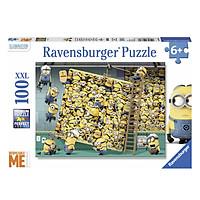 Xếp Hình Puzzle Minions Vui Nhộn Ravensburger RV10785 8 (100 Mảnh)