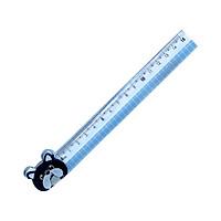 Bộ 3 Thước Kẻ 15cm RL04-PE - Xanh Dương
