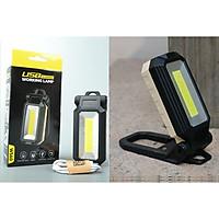 Đèn led dã ngoại, du lịch cầm tay siêu sáng sạc điện 560 có độ bền cao, kiểu dáng hiện đại, dễ mang theo ( Tặng kèm đèn led mini cắm cổng USB ngẫu nhiên )