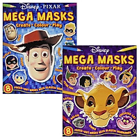 Combo Mega Masks - Create - Colour - Play