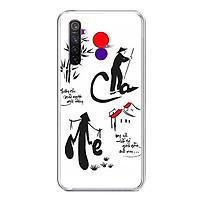 Ốp lưng điện thoại Realme 5 Pro - Silicon dẻo - 0391 CHAME02 - Hàng Chính Hãng