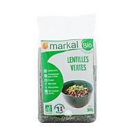 Đậu lăng xanh hữu cơ Markal 500g