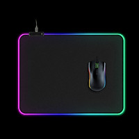 Led Illuminated Gaming Mouse Pad Large Xxl Computer Mouse Pad Desk Mat