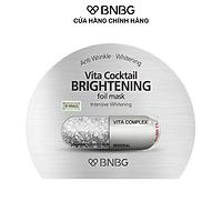 Mặt Nạ Sáng Da BNBG Vita Cocktail Brightening Foil Mask Intensive Whitening 30ml