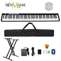 Đàn Piano Điện Bora BX1A - Đàn, Chân, Bao, Nguồn - 88 Phím nặng Cảm ứng lực Midi Keyboard Controllers BX-1A - Kèm Móng Gẩy DreamMaker