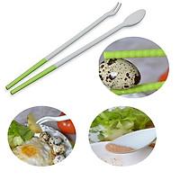 Đũa Nấu Ăn Thông Minh Japan 30cm + Tặng Gói Hồng Trà Sữa (Cafe) Maccaca