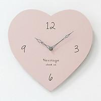 Đồng hồ treo tường hình trái tim Heritage clock co