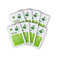 Combo 08 Mặt nạ dưỡng ẩm, trắng sáng da Hàn Quốc chính hãng Lagivado đắp mặt thư giãn, làm dịu da, cho làn da căng bóng và mềm mịn Hydra Calming Facial Mask dạng giấy
