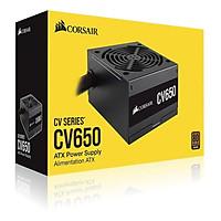 Nguồn máy tính Desktop Corsair CV650 650W 80 Plus Bronze CP-9020236-NA - Hàng Chính Hãng