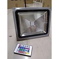 Đèn pha LED đổi màu công suất 30w