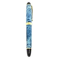 Bút Ký Tên Dạ Bi Kim Loại Phủ Vân Đá Phong Thủy Quyền Lực B&J BJ006 dành cho doanh nhân, khẳng định đẳng cấp cá nhân, ngòi viết 0.5mm, bút mực dầu, phủ vân
