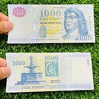 Tiền Hungary 1000 Forint, tiền cổ châu Âu, mới 100% UNC, tặng túi nilon bảo quản
