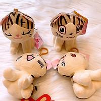 Móc Khóa Bông Mèo CHI - Giao Ngẫu Nhiên