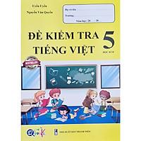 Sách - Đề kiểm tra Tiếng Việt 5 học kì II