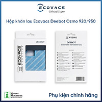 Hộp khăn Deebot OZMO 950 (3 cái) - Hàng chính hãng
