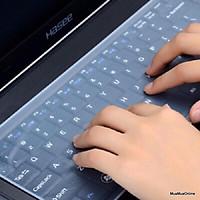 Tấm Phủ Bàn Phím Silicon Cho Laptop 15, 16 Inches Chống Bụi, Chất Lỏng