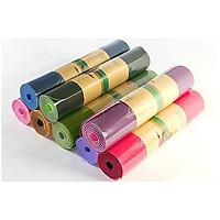 Thảm Tập Yoga TPE 2 Lớp 6mm - Giao Màu Ngẫu Nhiên