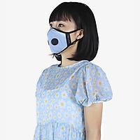 Khẩu trang thời trang cao cấp Soteria Cerulean ST175 - Khẩu trang vải than hoạt tính [size S,M,L] Van đen
