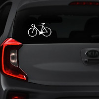 Bộ 2 Tem Dán ô tô In UV Chống Nước | Decal Xe Vui Nhộn | Stickers VN-1045