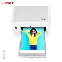 HPRT CP4000L Portable Full Color Photo Printer Mini Househeld Thermal Sublimation Printer 4x6 Inch 300dpi AR Printing