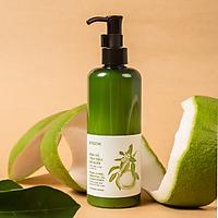 Kem xả tinh dầu vỏ bưởi - Giảm gãy rụng và khô xơ - Cung cấp dưỡng chất nuôi dưỡng chân tóc và da đầu - Phục hồi hư tổn giúp tóc suôn mượt và mềm mại