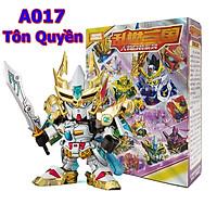 Đồ chơi xếp hình Tôn Quyền - Mô hình lắp ráp tướng Gundam