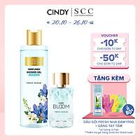 Bộ đôi sữa tắm nước hoa & nước hoa nữ Fresh Ocean mùi hương năng động trẻ trung 270g + 50ml