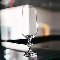 Bộ 6 ly thủy tinh pha lê Glass uống champage 180 ml Tiệp khắc