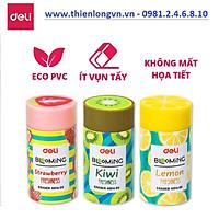 Bộ sưu tập 3  viên gôm tẩy hoa quả Deli - 01400