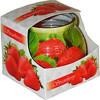Ly nến thơm tinh dầu Admit Strawberry 85g QT04547 - hương dâu tây