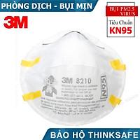 Khẩu trang N95 3M 8210 - Khẩu trang 3D Mask đạt chuẩn N95 chống bụi mịn