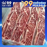 [Chỉ giao HCM] - Sườn Bò Mỹ có Xương - US Beef Short Rib bone In - 500gram