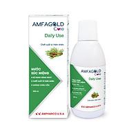 Nước súc miệng hàng ngày AMFAGOLD Care DAILY USE