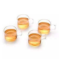 Bộ 4 tách trà thủy tinh Samaglas CP02/4 150mL