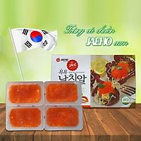 Trứng cá chuồn - Tobiko  cam/đỏ - 120g