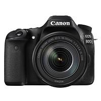 Máy Ảnh Canon EOS 80D + 18-135mm f/3.5-5.6 IS USM (Đen) - Hàng Nhập Khẩu