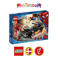 Đồ chơi LEGO SUPERHEROES Người Nhện & Ma Tốc Độ đối đầu Carnage 76173