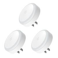 Set 3 Đèn Ngủ Cắm Điện Xiaomi Mijia MJYD04YL Cảm Biến Ban Đêm & Tiết Kiệm Năng Lượng (220V)