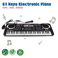 Đàn Piano Đàn Điện Tử 61 Phím Kèm mic Đàn Piano Cho Bé chơi bé tập đàn Nhiều Chức Năng