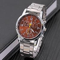 Đồng hồ cơ nam cao cấp dây đeo kim loại lịch lãm DH103